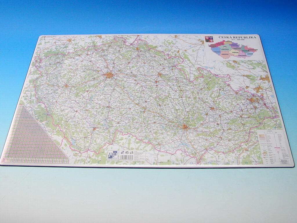 Podložka na stůl mapa ČR  /5-806/