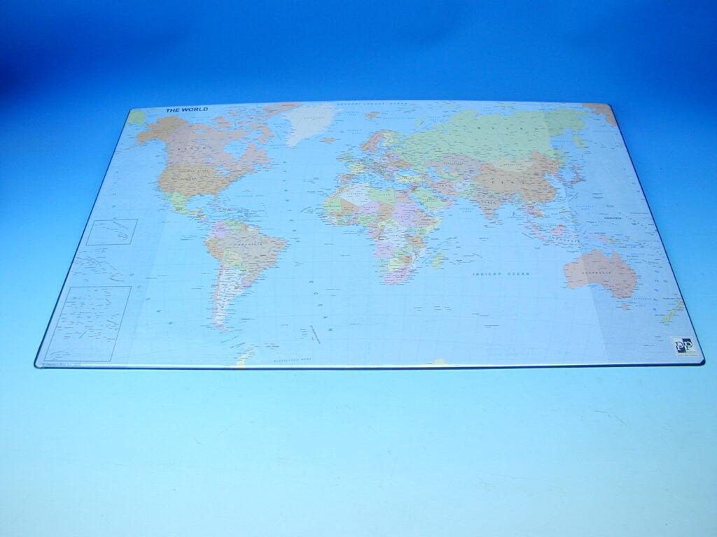 Podložka na stůl mapa SVĚT  /5-810/