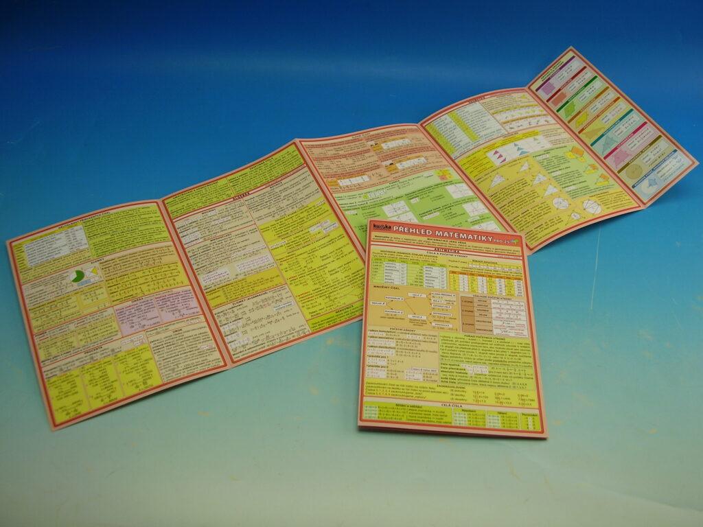 Tabulka Přehled Matematiky pro ZŠ