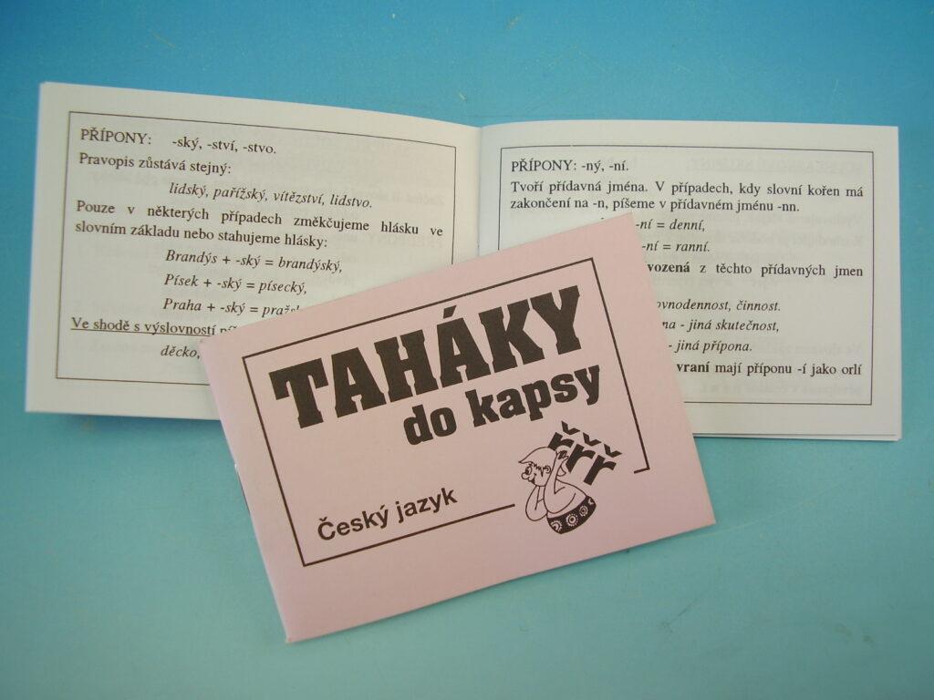 Taháky do kapsy - Český jazyk