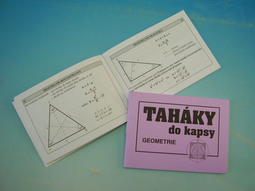 Taháky do kapsy - Geometrie