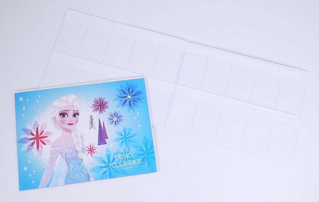 Desky na číslice Frozen / 3-98418
