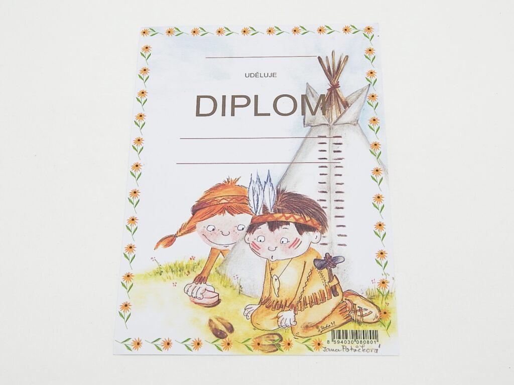 Diplom dětský A5 Tee-pee