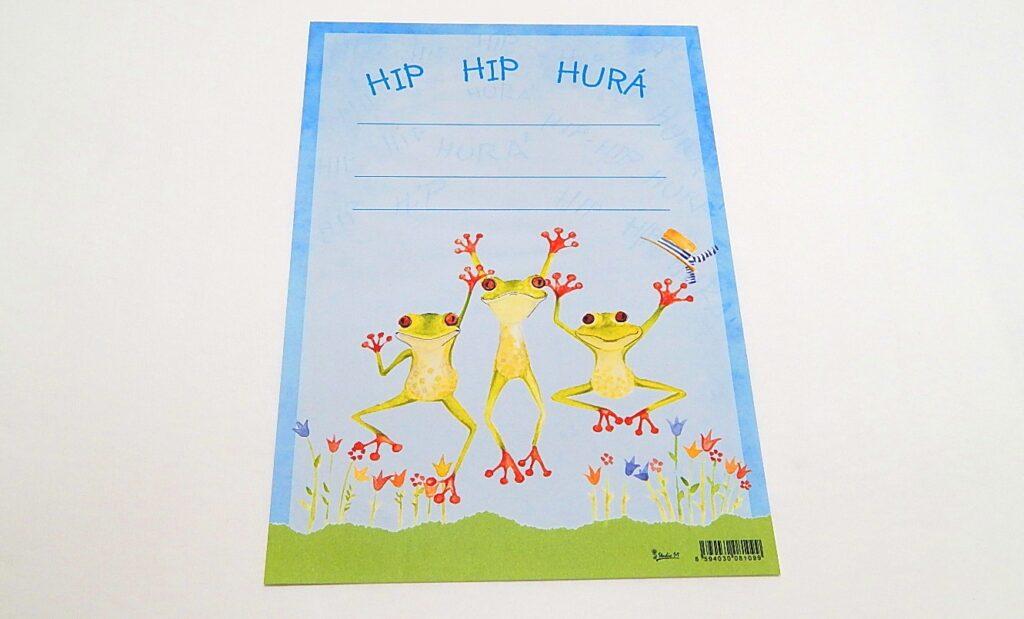 Diplom dětský A4 Hip,hip,hurá