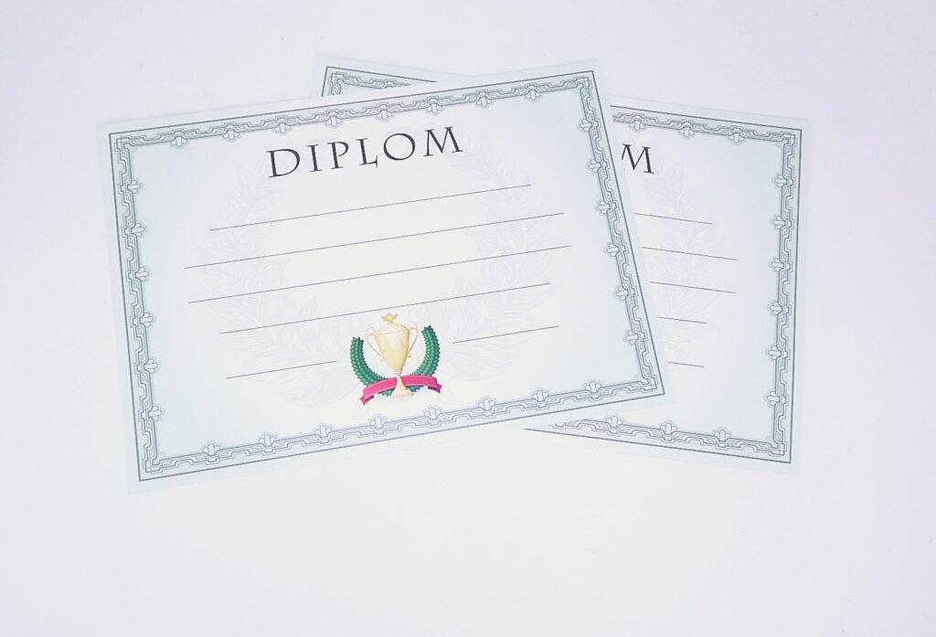 Diplom A4 VAVŘÍN / BD142