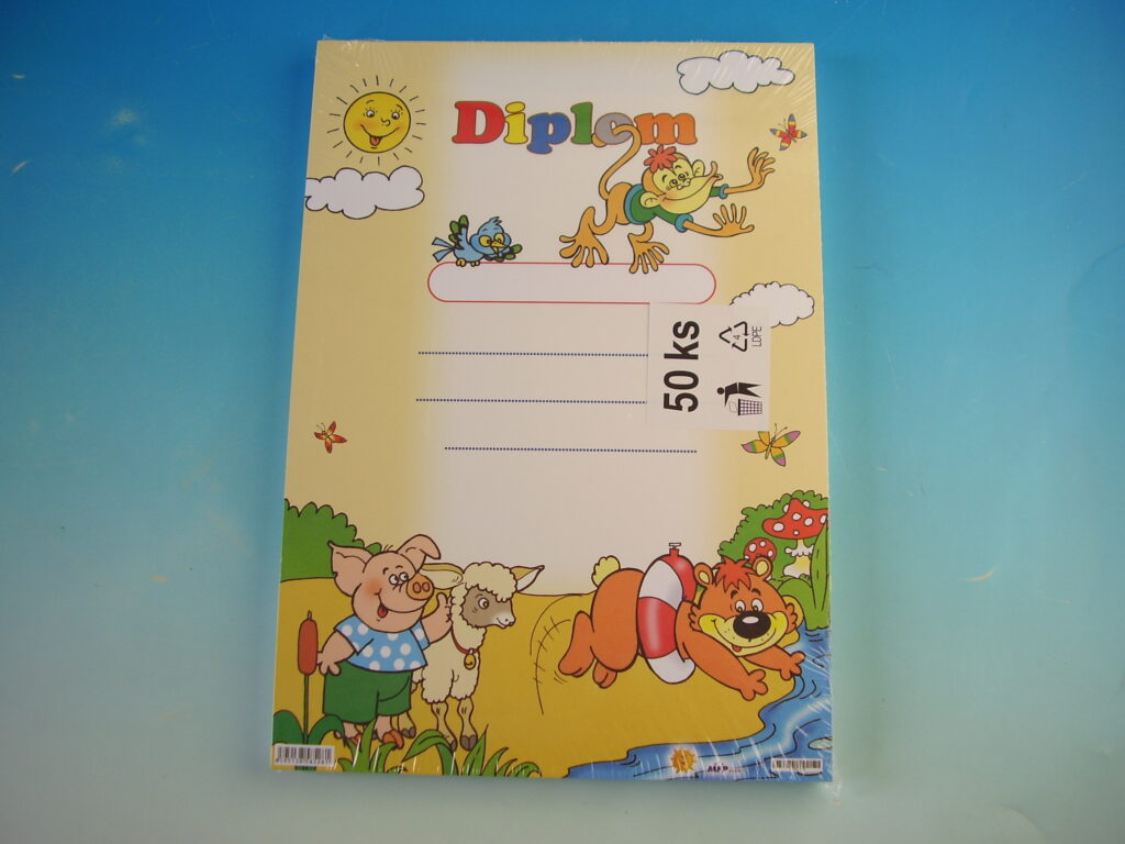 Diplom dětský A4 MFP DIP04-002