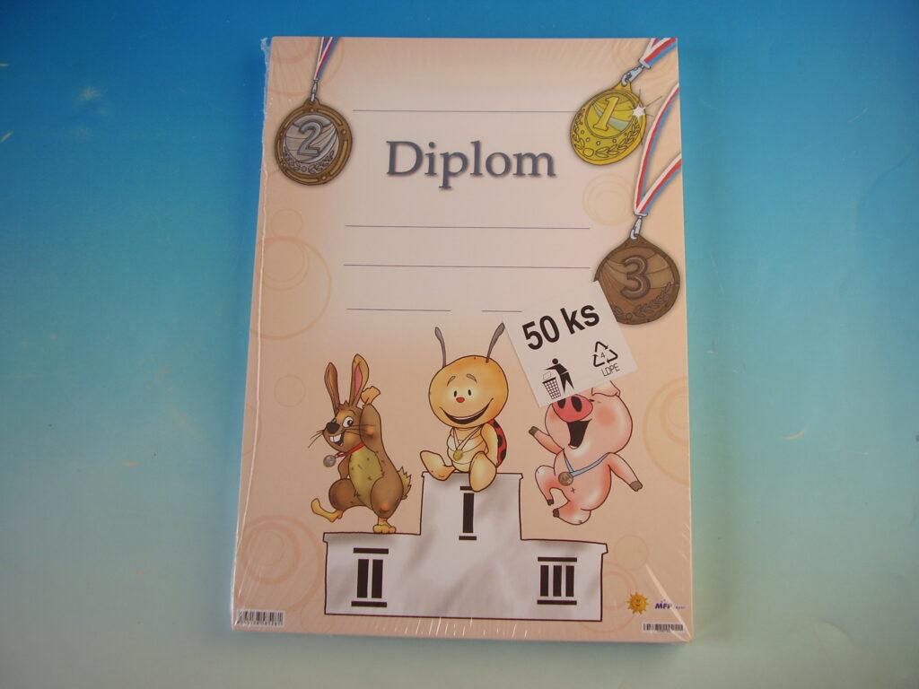 Diplom dětský A4 MFP DIP04-004