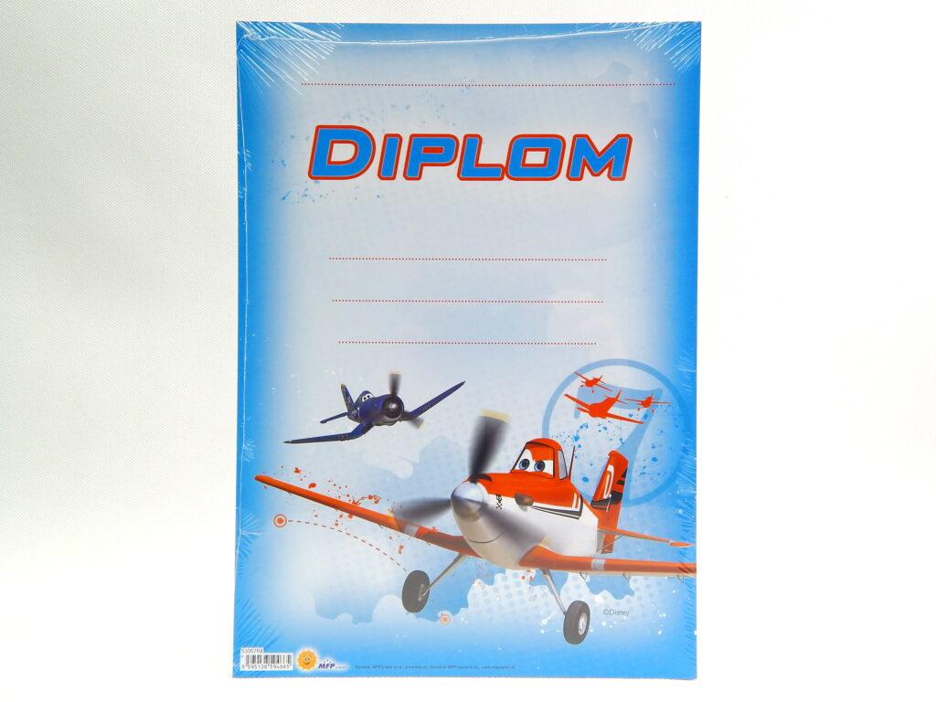 Diplom dětský A4 MFP Letadla 5300768