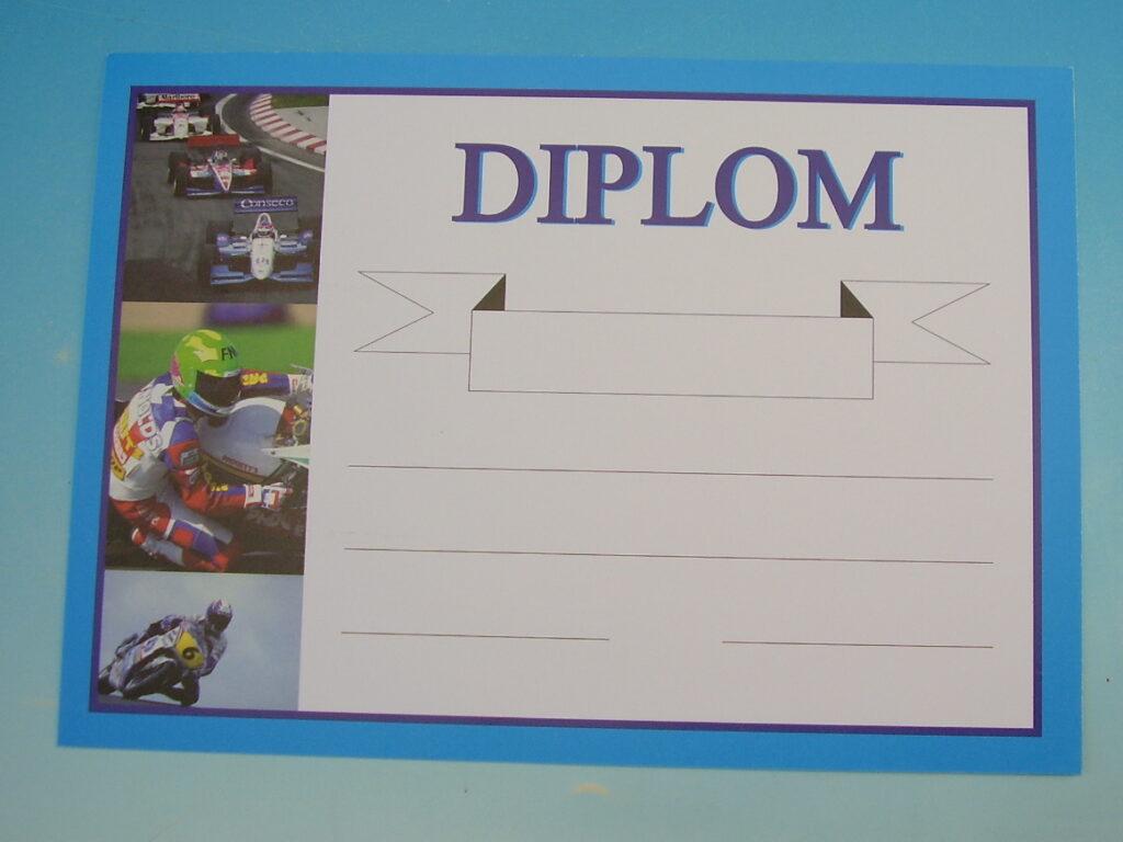 Diplom A5 BD036 - Moto-sport