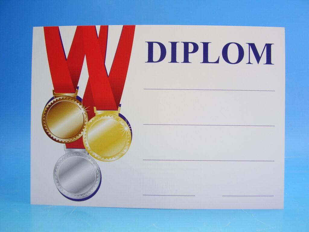 Diplom A5  BD047 - VÍTĚZ