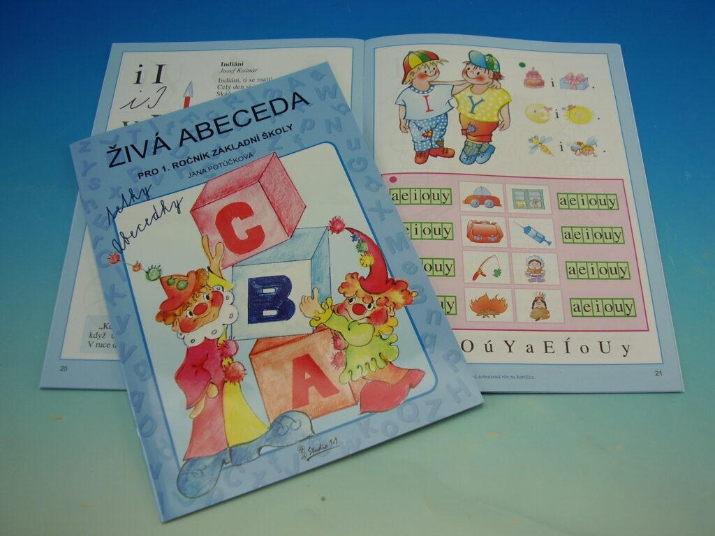 Živá abeceda tetky Abecedky pro 1.ročník 51010