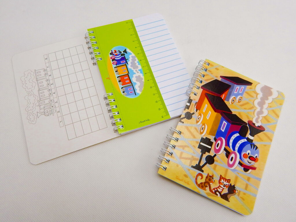 Zápisník školní A6- Mašinka