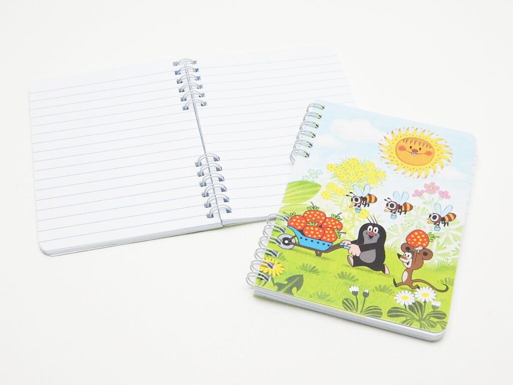 Zápisník školní A6- Krtek