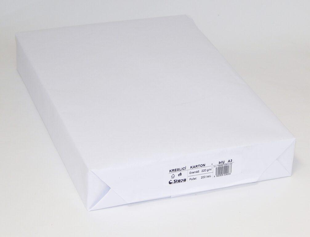 Karton kreslící A3 /220g/ 200 /