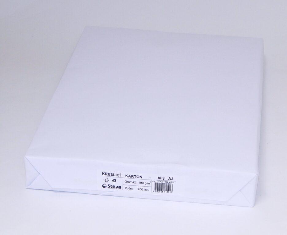 Karton kreslící A3 / 180g / 200 ks