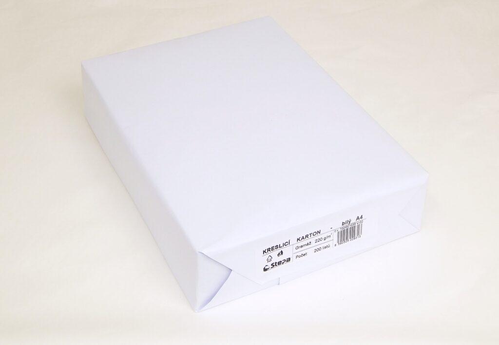 Karton kreslící A4 / 220g/ 200ks