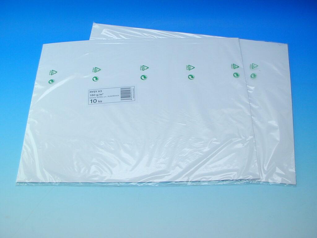 Karton rýsovací A3/10ks 180g SCP