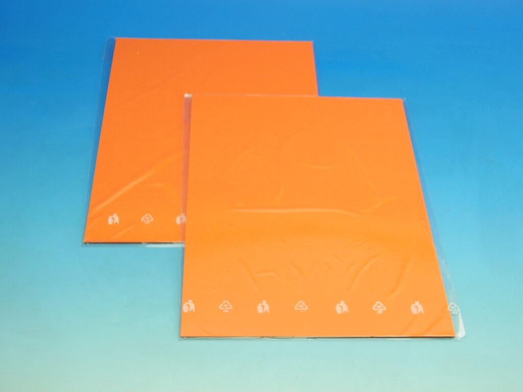 Karton barevný TBK 03 oranžový 160g  10ks