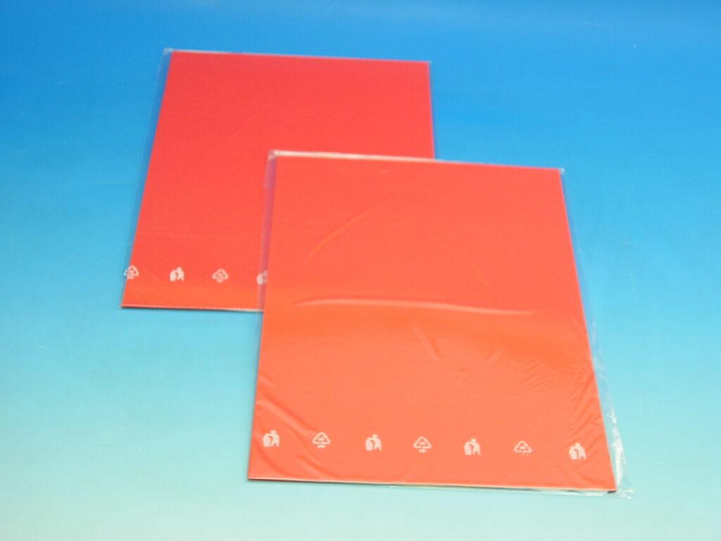 Karton barevný TBK 04 červený 160g  10ks