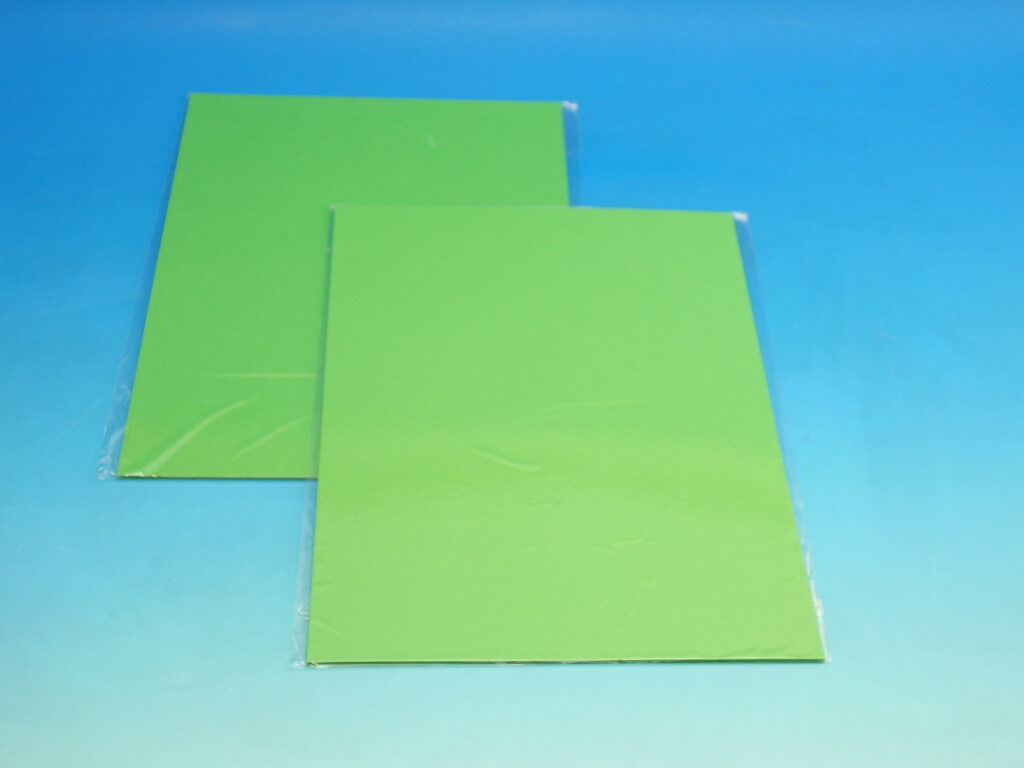 Karton barevný TBK 06 tm.zelený 160g 10ks