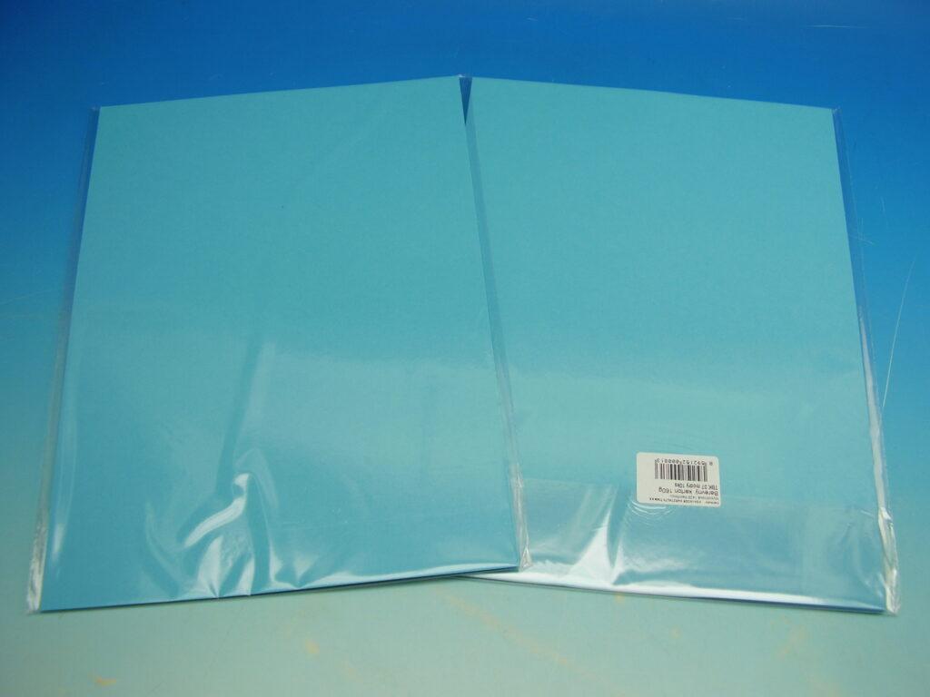 Karton barevný TBK 07 modrý 160g  10ks