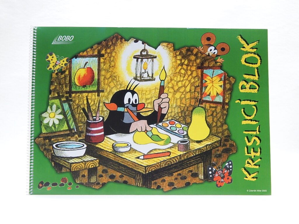 Blok kreslící KRTEK A3 čistý, 20l /19462/