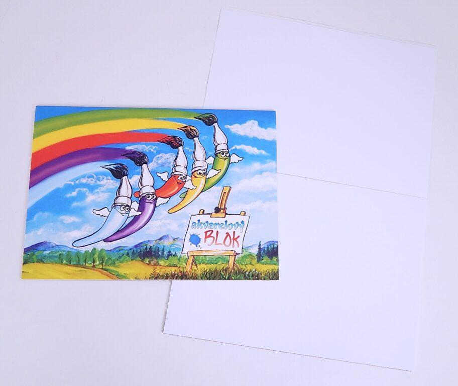Blok akvarelový A4 SL 10l