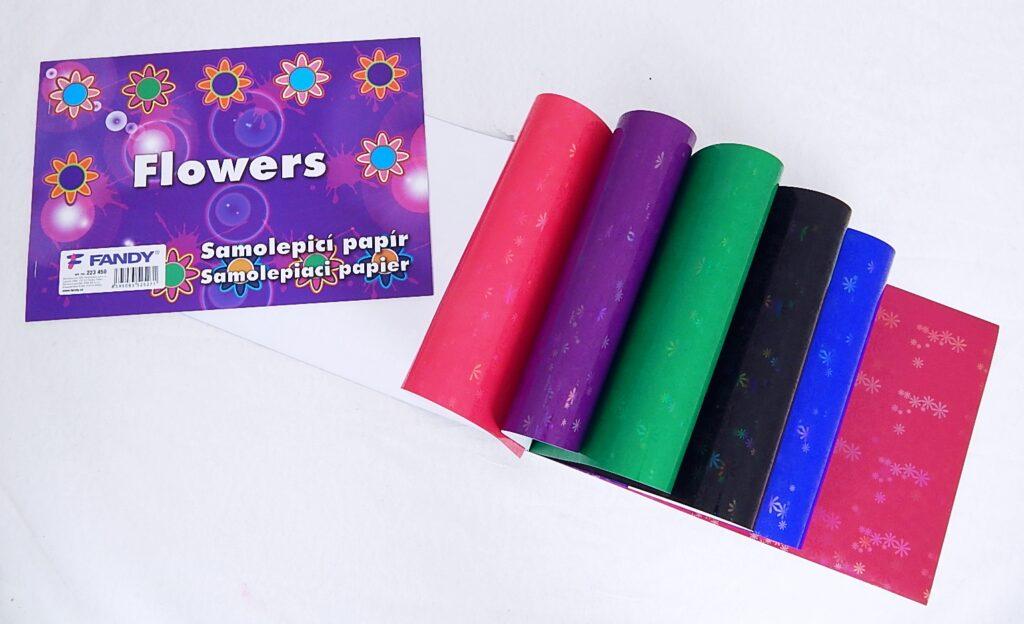 Samolepicí papíry Flowers/223450