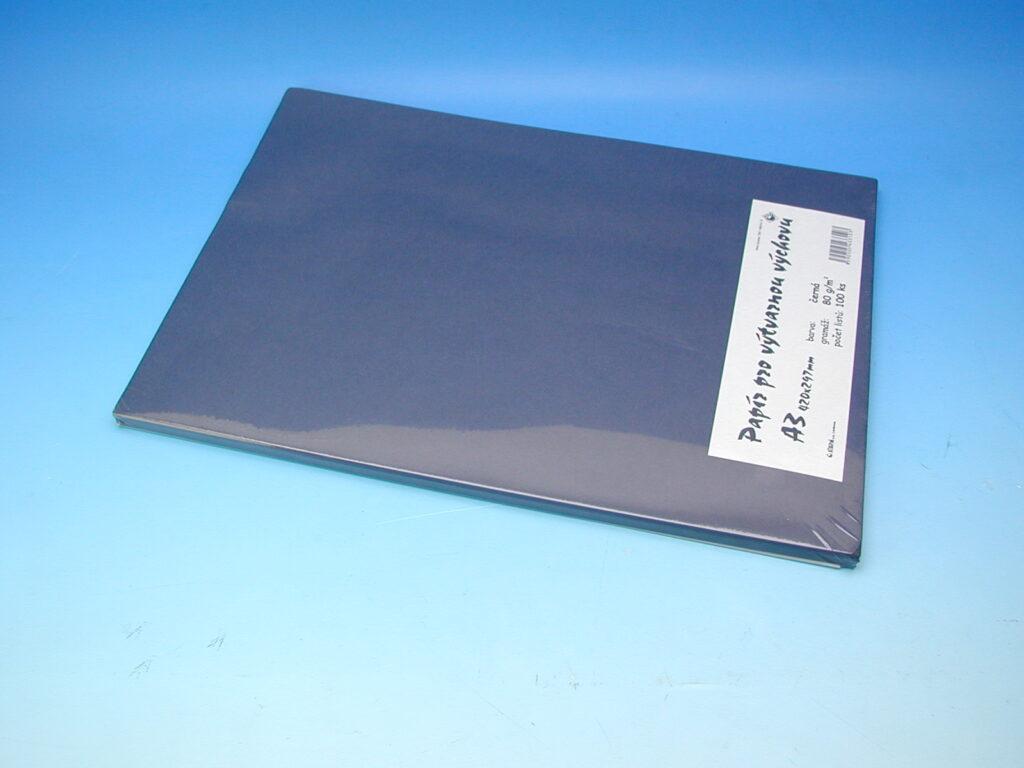 Papír A3 černý EKO 100ks