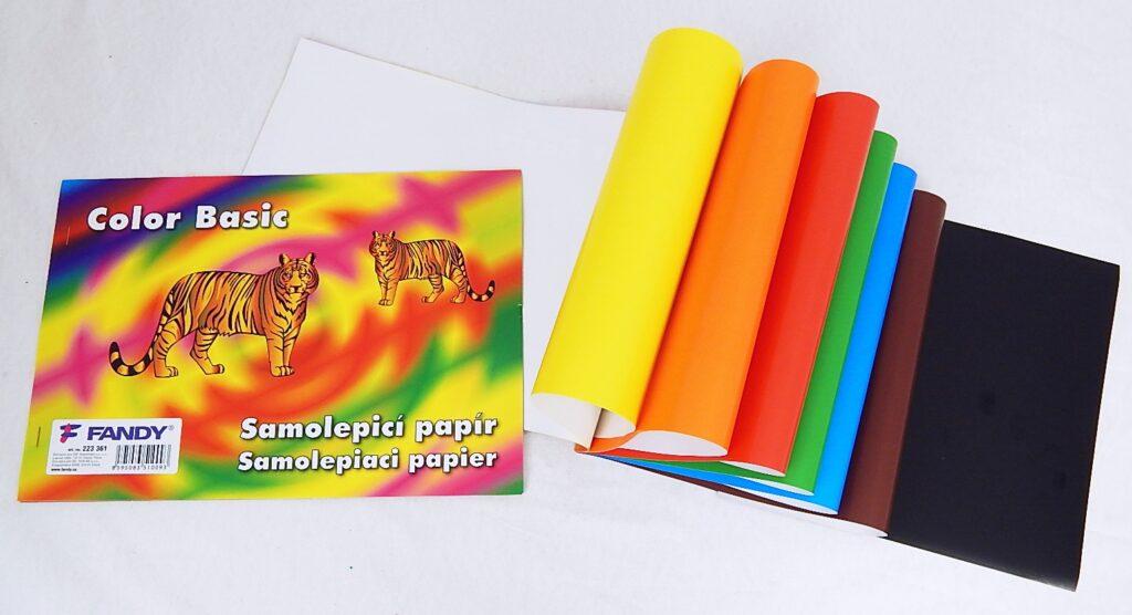 Samolepicí papíry Basic / 223361