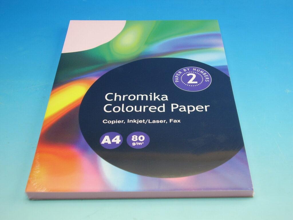 Papír kancelářský A4/100ks past. růžová 80g  393488