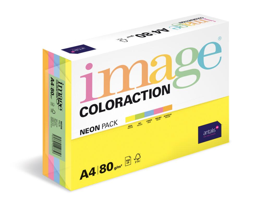 Papír kancelářský A4/100 MIX pastelový