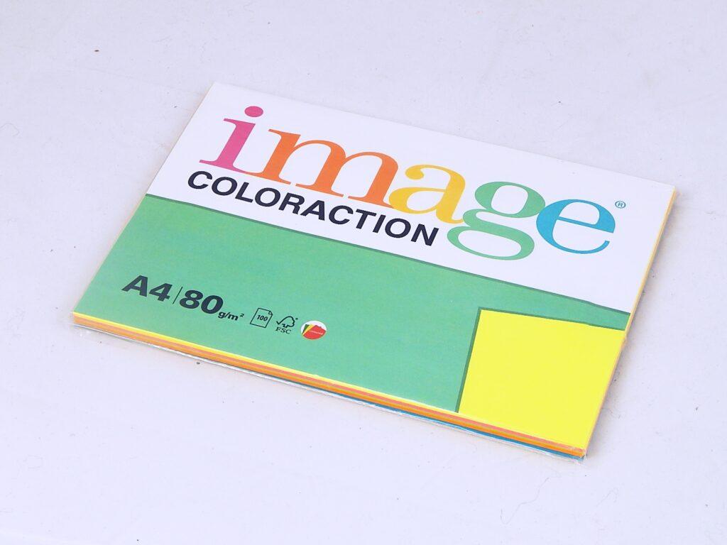 Papír kancelářský A4 MIX reflexní  ( 393517)