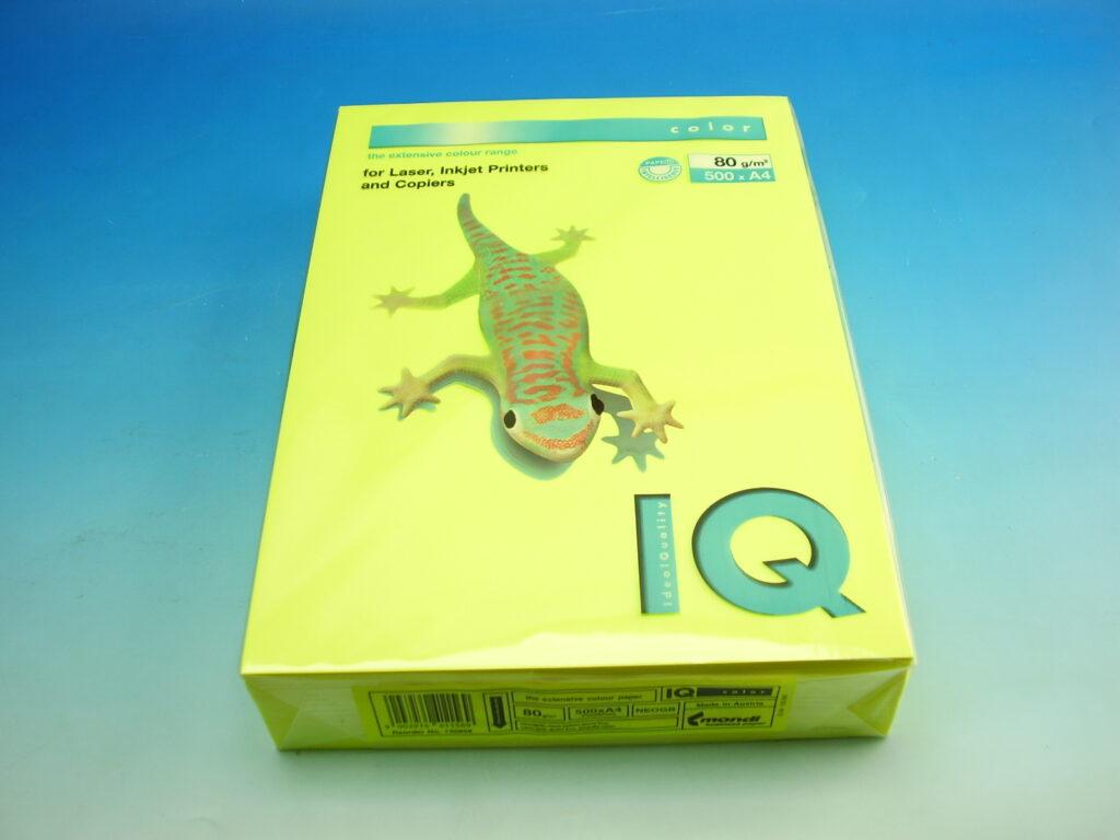 Xerox.papír A4 IQ/ŽL FLUO 80g /NEOGB/