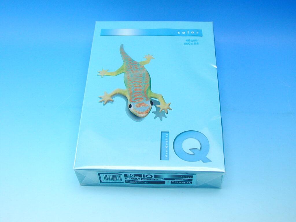 Xerox.papír A4 IQ/SV.MODRÝ 80g (AB48)