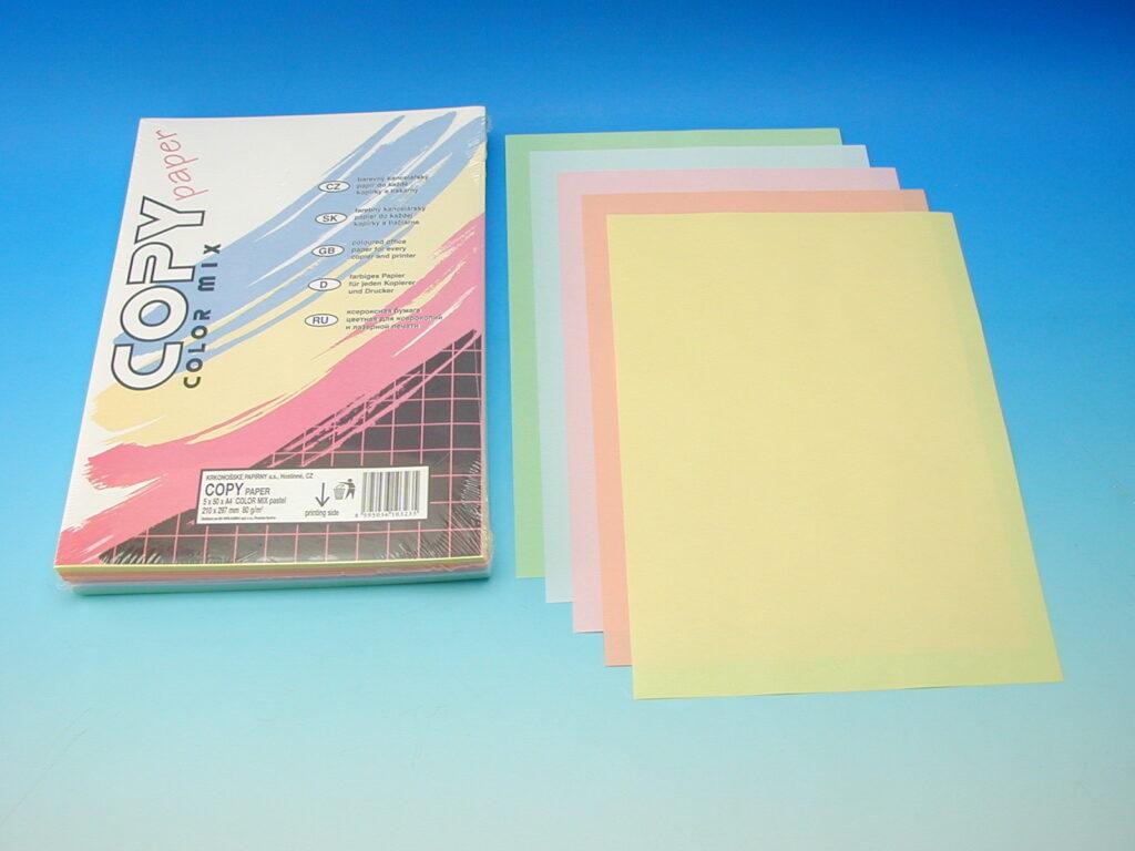 Xerox.papír A4 COLOR MIX pastel.80g /283818/