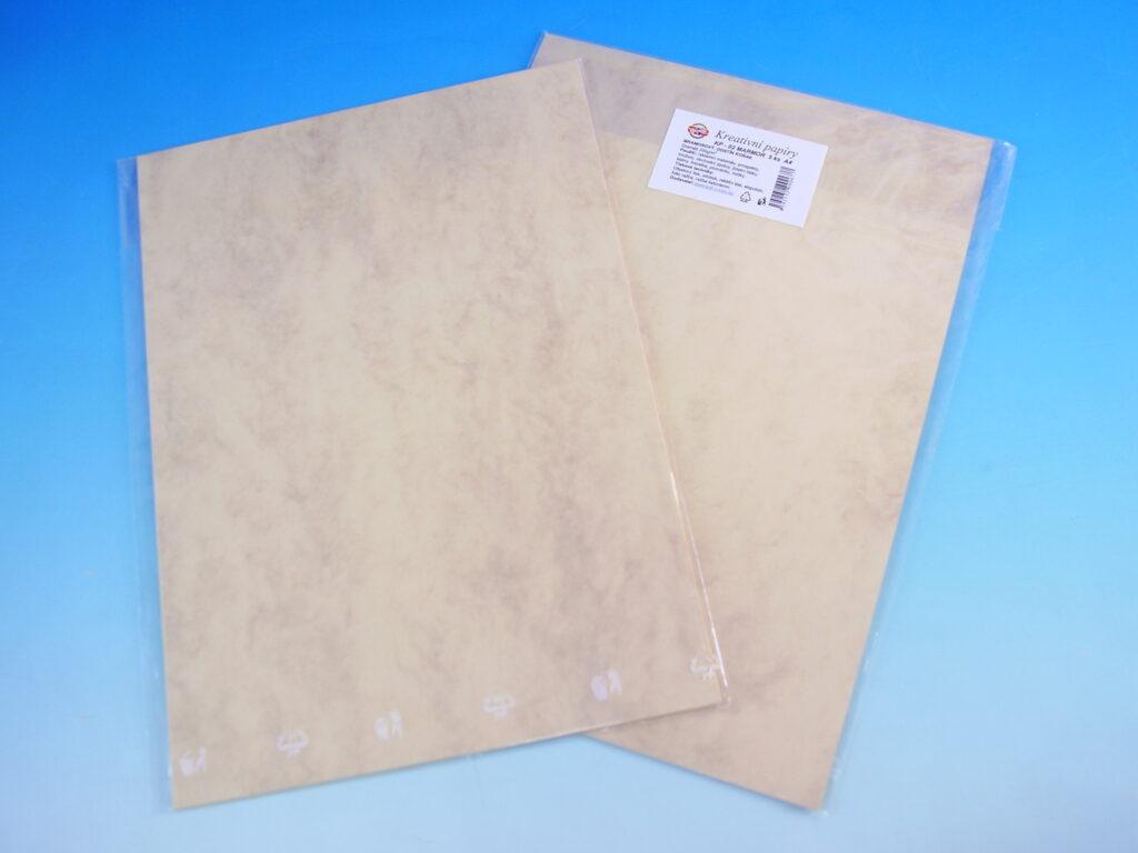 Papír kreat. TKP 02-MRAMOR KOŇAK 02  5ks