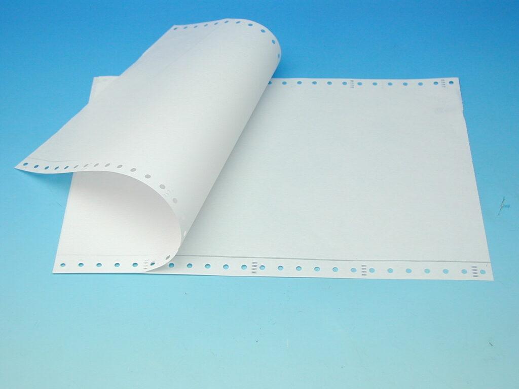 Papír tabelační 250mm NCR 1+1/1000 KRPA