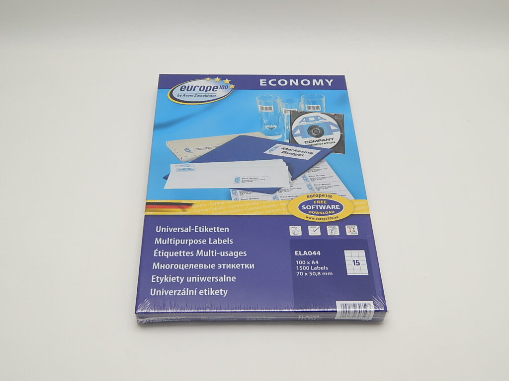 Etikety 70x50,8mm, bílé ELA044