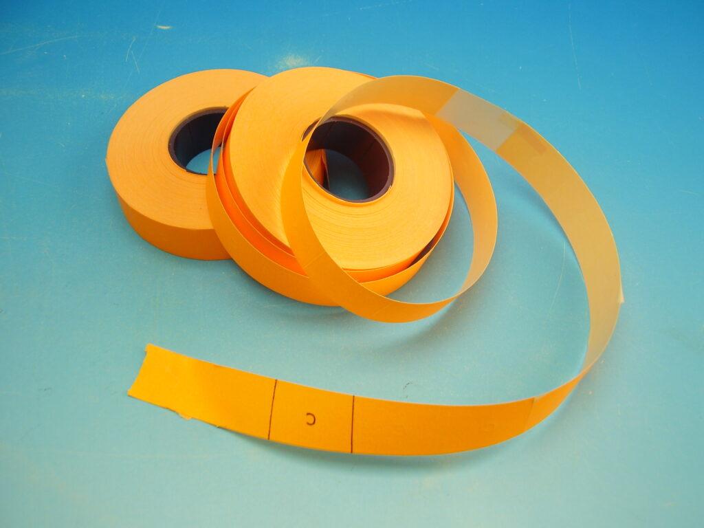 Etikety cenové 16x23 oranž. signální MOTEX