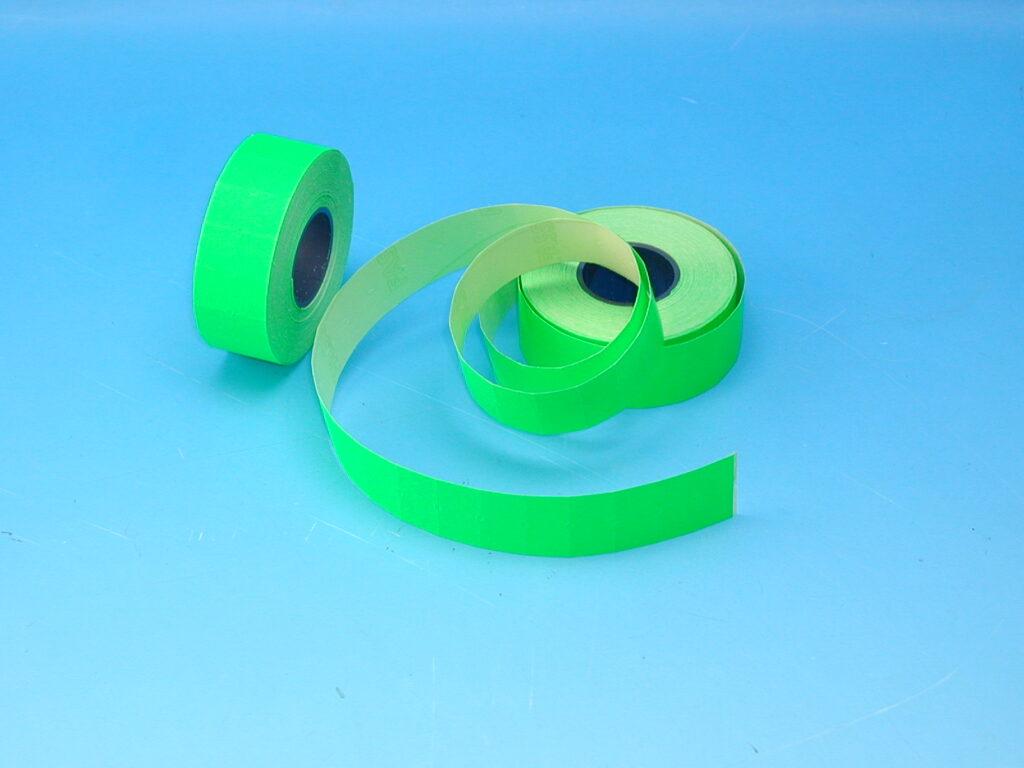 Etikety cenové 22x12 zelené COLA-PLY