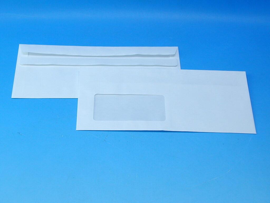 Obálka DL okno-vlevo samolep. 1163178