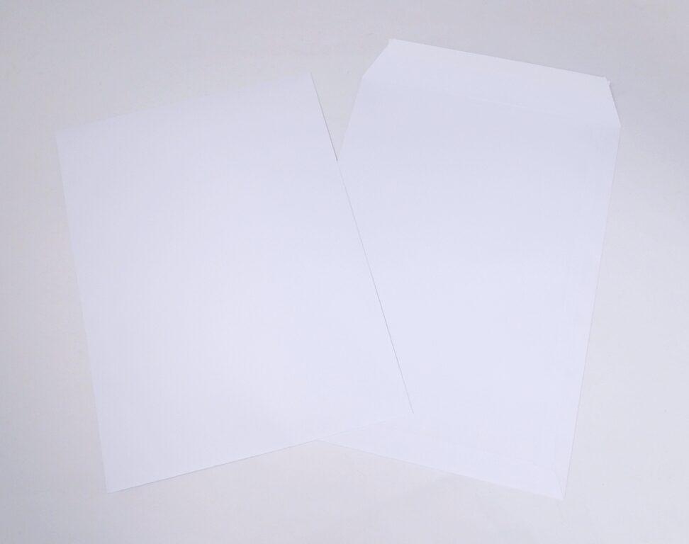 Obálka B4 s páskou, bílá T-B4/90SK/P