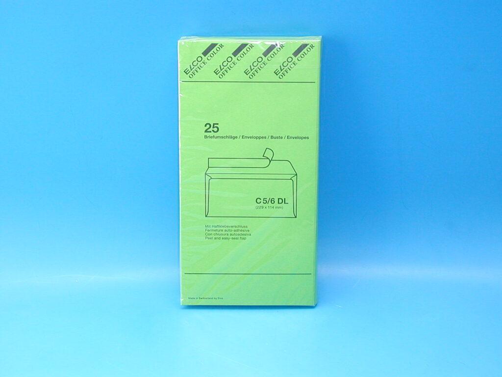 Obálka DL/ZEL/25 s kr.páskou /74617-62/