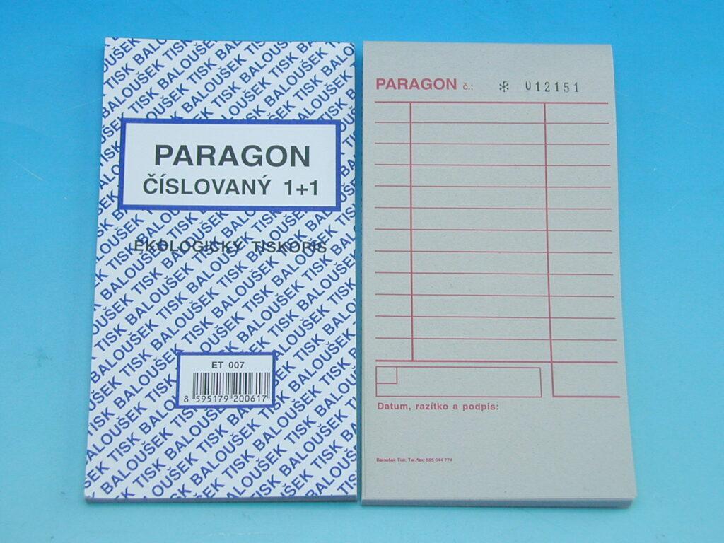 Paragon číslovaný 1+1, 50l /ET007/