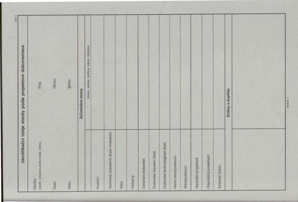 Deník stavební A4 /ET395/