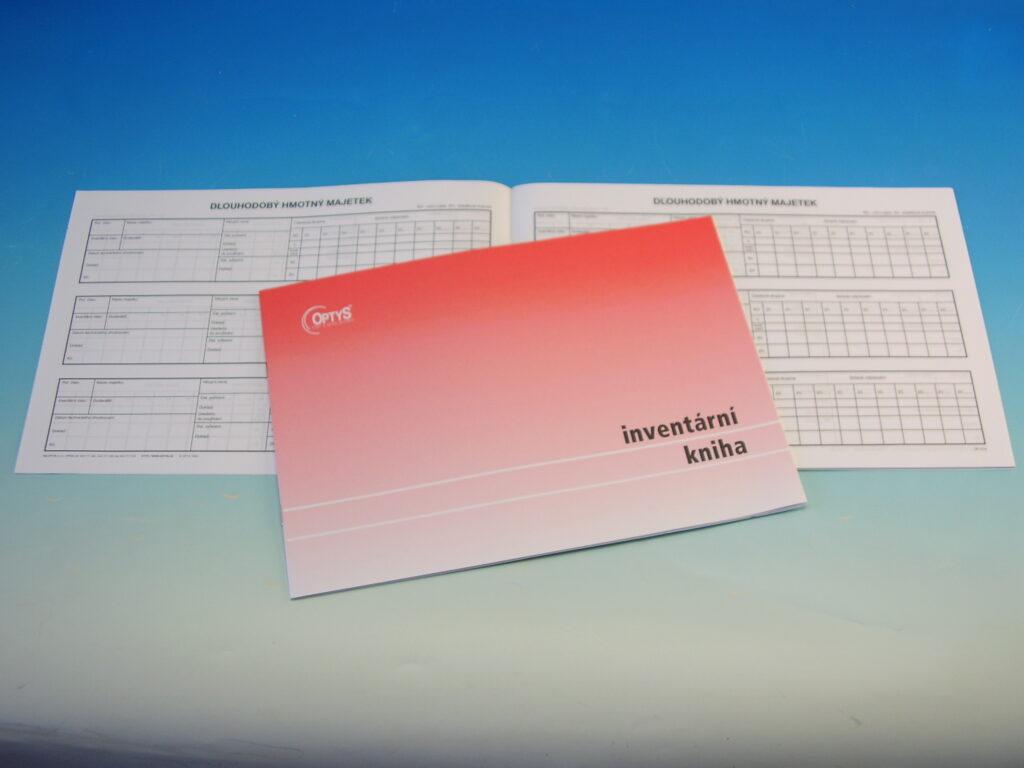 Kniha inventární A4, 12l /OP1012/