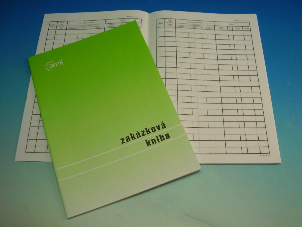 Kniha zakázková A4, 23l /OP1013/