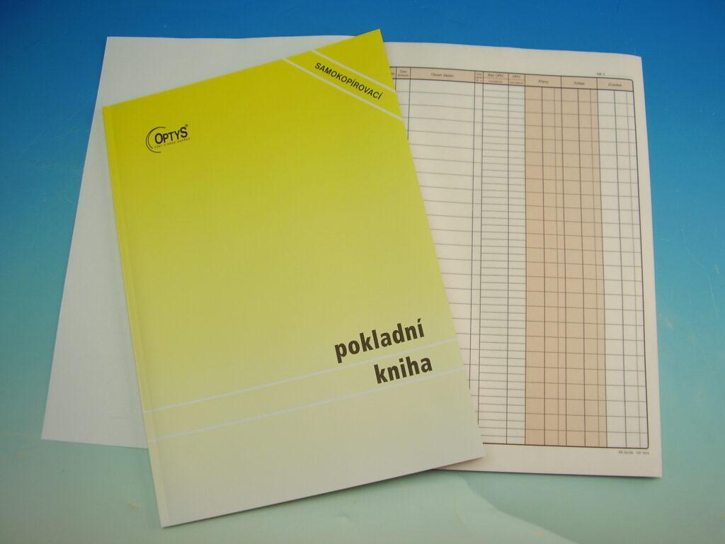 Kniha pokladní NCR A4, propis., 51l /OP1014/