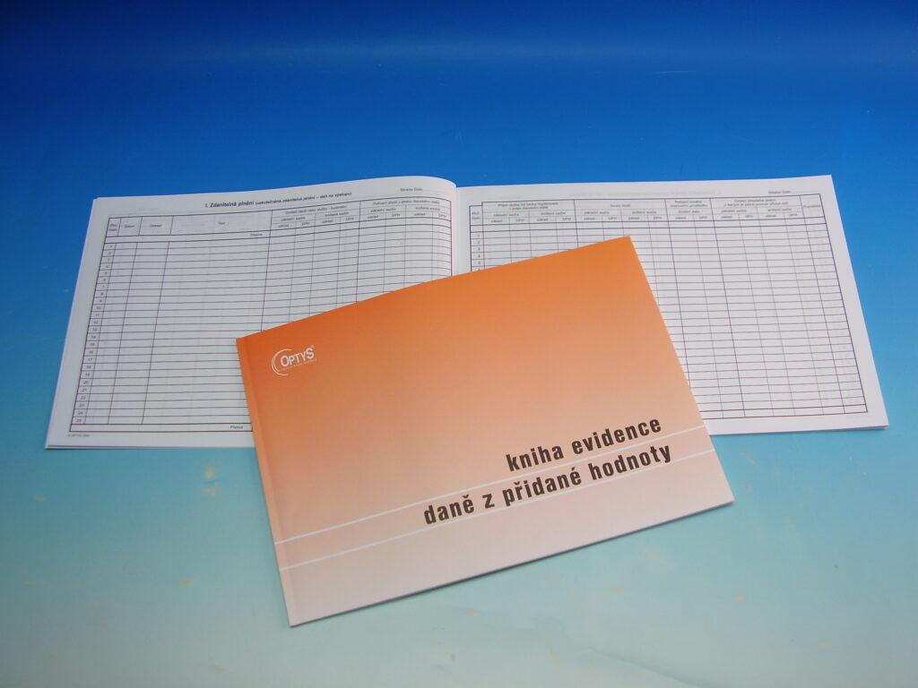 Kniha evidence DPH  A4 /OP1019/